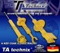 FIAT UNO Ta-Technix Sport Hátsó Lengéscsillapító