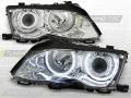 BMW E46 Első Lámpa, Tuning-Tec, CCFL Neon Angel Eyes (Évj.: 2001.09 - 2005.03)
