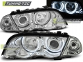 BMW E46 Első Lámpa, Tuning-Tec, CCFL Neon Angel Eyes (Évj.: 1998.05 - 2001.08)