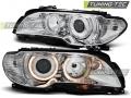 BMW E46 Első Lámpa, Tuning-Tec, Angel Eyes (Évj.: 2003.04 - 2006)