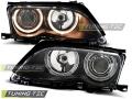 BMW E46 Első Lámpa, Tuning-Tec, Angel Eyes (Évj.: 2001.09 - 2005.03)