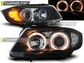 BMW E90 Első Lámpa, Tuning-Tec, Angel Eyes (Évj.: 2005.03 - 2008.08)