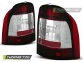 Ford Mondeo Tuning-Tec Hátsó Lámpa Piros/Kristály (Évj.:1993.01 - 2000.08)