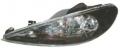 Peugeot 206 FK Tuning Első Lámpa (Nem kör helyzetjelzős!)