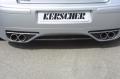 Kerscher-Tuning, Hátsó RS4 Spoiler-hez Diffúzor,VW Golf 4