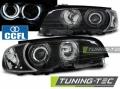 BMW E46 Első Fényszóró Lámpa, Tuning-Tec, CCFL Neon Angel Eyes (Évj.: 1999.04 - 2001.08)