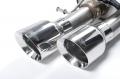 Audi S8 4.0 TFSi quattro Tiptronic, Milltek (Gyári katalizátoros) komplett kipufogórendszer