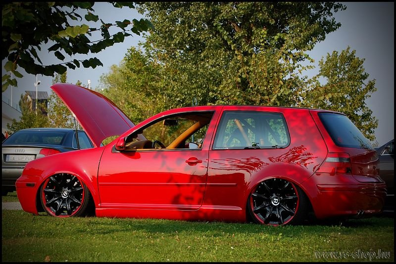 rs tuning demo cars golf 4 davor 39 s red passion rs. Black Bedroom Furniture Sets. Home Design Ideas