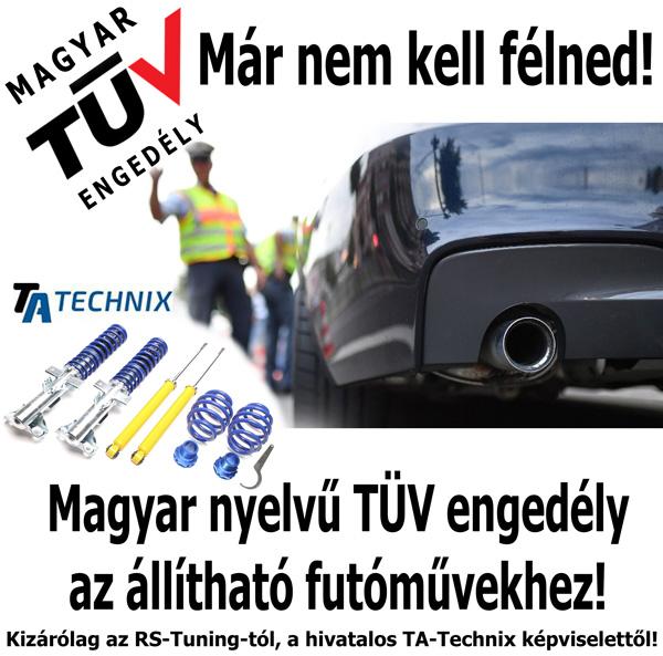 Magyar TÜV engedély futóművekhez 66a325dcb0